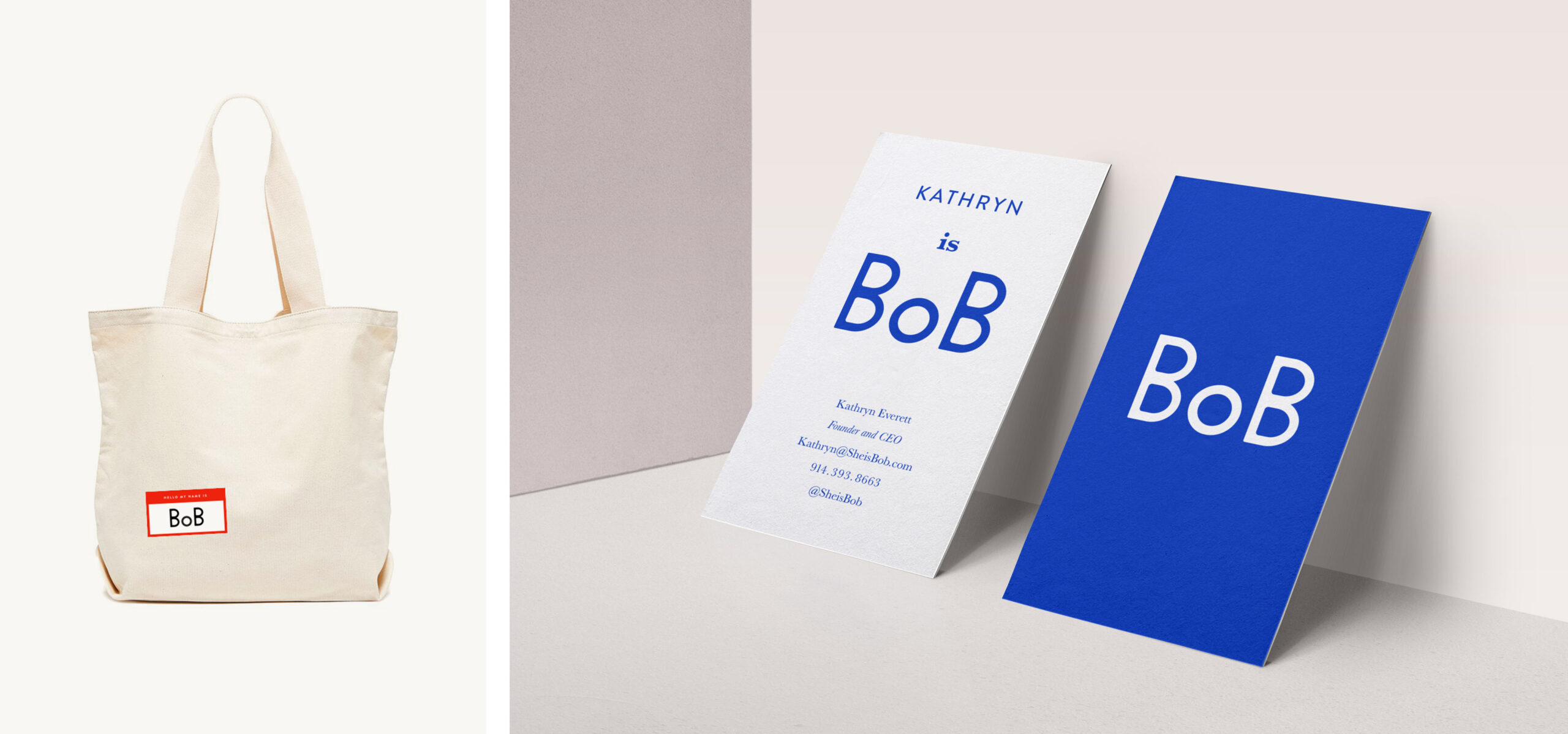 Site_BOB_business card and tote
